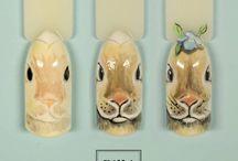 Paznokcie Wielkanoc