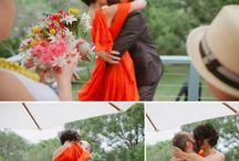 bold + bright / Bright, cheerful wedding inspiration