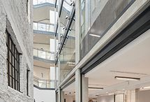 2017 Shortlist - 40 Chancery Lane / This new office building in the City of London for Derwent London celebrates the use of concrete both inside and out. Internally, the structural frame is exposed, unpainted and with exceptionally high-quality feature walls in key areas. Externally, the elevations are composed of contrasting yet complementary natural stone and precast concrete cladding.