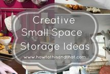 Storage-Small Space Living / Storage Solutions for Small Space Living