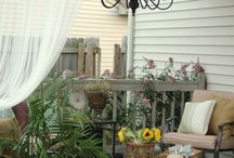 New House-Garden and Yard / by Jennifer{ContentmentAtHome}