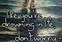 You can walk on water