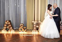 Świecące litery / Wypożyczamy świecące litery, napisy. LOVE, Pan i Pani oraz inicjały na ślub. Dekoracje ślubne i weselne. Wedding decorations