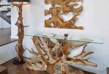 CONSOLLE PER INGRESSI / Idee e proposte per ingressi con consolle originali decorative.