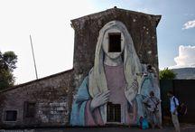 Murals ,Murales / street art and graffiti Murals