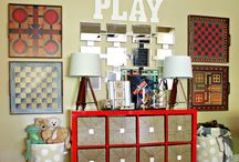 Around the House {Game Room}