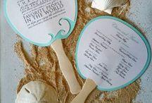 Wedding Fan Invites