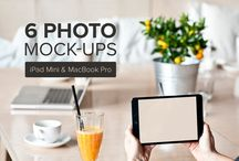 Photo mockups / professional photo mockups for web designers