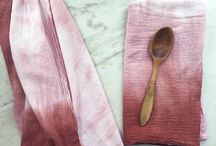 Flora Poste Studio / Hand dyed linens, pillows, accessories, and baby stuff from Flora Poste Studio!