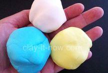 Clay Plaster, Cement, Papier-mâché / by Melanie Nolan