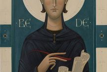 Contemporary Icons of British Saints / By Olga Shalamova
