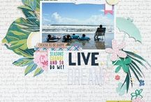 Cocoa Daisy March 2017:  Flutterby / We carefully curate Scrapbooking, Day in the Life (Project Life or pocket scrapbooking), Day Planner (organizers, filofax, kikki k, midori traveler's notebook, planner) kits every month.  Exclusive stamps, washi tape, paper clips, puffy stickers, and more!