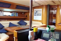 Nuestro Velero Triana V / Algunas fotos del interior y del exterior de nuestro velero