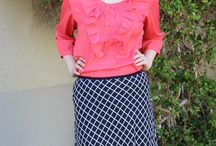 Sister Missionary Skirts & Shirts / Modest skirt, shirt, and outfit ideas for sister missionaries.