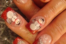 Christmas Nails / For the moth of December