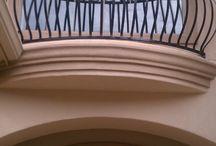 Balcony Rails / Custom Balcony Rails.  Fabricated and installed by Titan Fence & Supply