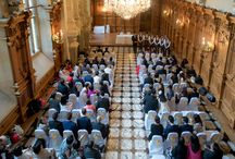 Weddings at Harlaxton Manor / Weddings at Harlaxton Manor as photographed by Chanon deValois www.cvphoto.co.uk