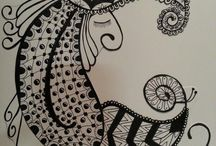 My Zentangles / by Tiffany Kennedy