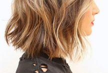 Coiffures cheveux mi-long