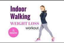 excerise walking video