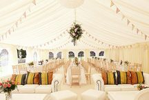 Wedding Reception Tents / How beautiful a tent can be for your event.