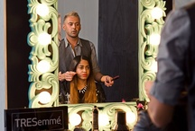 TRESemme Salon/Lounge Fall 2012 / Join TRESemme for some backstage action in our Lounge/Salon! #Tresemme #hair #hairstyling #products #beauty #fashionweek #fashion #fallfashion