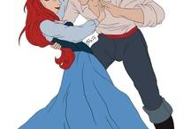 Disney Romance / All those lovely romantic Disney films!