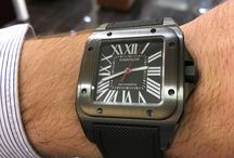 Cartier Santos 100 Carbon / https://www.youtube.com/watch?v=t80kykbsvvA