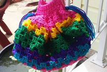 Crocheted Items. / by Relaxed Lux by Kathleen Fields