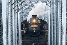 Trains & Tram  Cars / by Richard Black