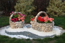 5- Pot designs; mine + others / Party of flowers ;)) / by Katayoon Moghaddam- Soroush