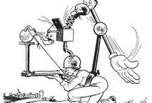 Rube  Goldberg / Kinetische kunstenaar