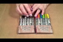 Tim Holtz Distress Crayons