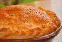 Еда Выпечка Заливные пироги
