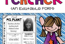Digital Download All About The Teacher