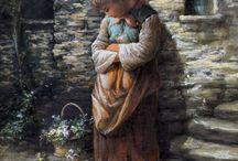 Children in art