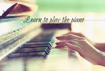 Bucket list piano spelen