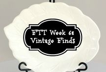 Home Decor: Vintage and Thrift Store Treasures and Finds & Tips / Thrift store and Vintage Shop finds, treasures and tips