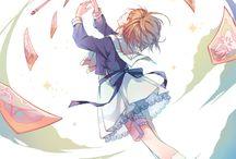 card . anime