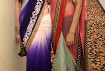 sarees and designer blouses