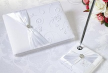Guest Books, Pens, Ring Pillows & Flower Baskets