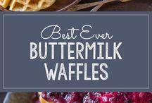 Waffles pancake