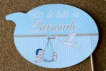 Chá de bebê - Menino / Papelarias personalizadas desenvolvidas na Tuty - arte & mimos para festas de chá de bebê para meninos!
