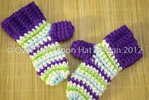 Crochet: Mitts, scarves, etc / by Colleen Scott