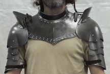 Larp Armor combinations / Photos of our products being worn or in combination with other items.
