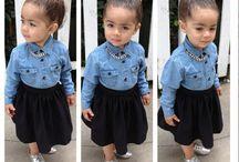 Baby fashionista's  / by Nadine Shami