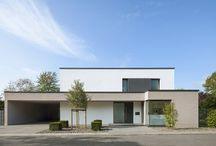 Minimalistische Häuser