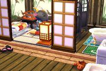 Animal crossing Jap Room