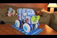 Diaper cakes / by April Jones