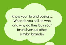 Brand building thinking..... / Tips on how to build you brand from Lisa from Klarity Marketing